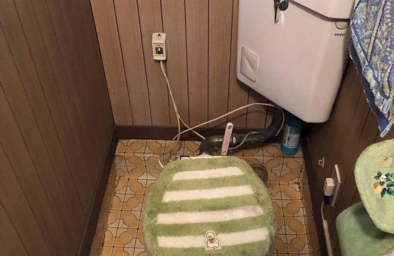 狭山市K様邸トイレ交換、補修工事完了致しました!